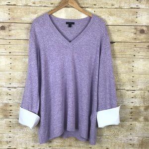 J. Crew Lavender Sweater